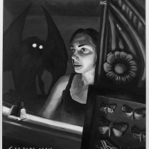 A visit from Mothman - Julie Salkowski