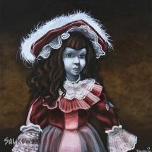 Poupée rouge - Julie Salkowski