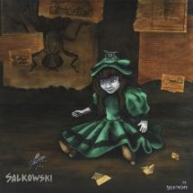 Poupée verte - Julie Salkowski